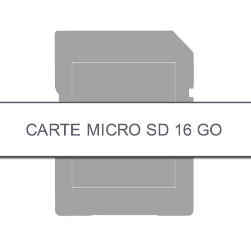 CARTE MÉMOIRE MICRO SD 16 Go