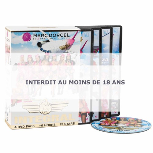 COFFRET 4 DVD DORCEL AIRLINES
