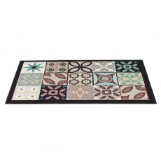 TAPIS «CARREAUX DE CIMENT» 50 x 80 cm