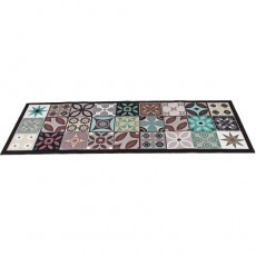 TAPIS «CARREAUX DE CIMENT» 50 x 140 cm