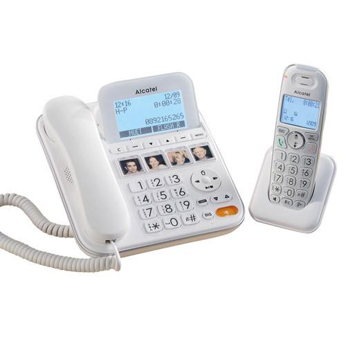 DUO TÉLÉPHONES  CONFORT ALCATEL