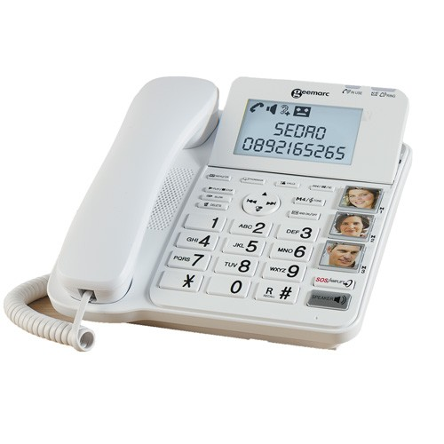 TÉLÉPHONE-RÉPONDEUR  FIXE CONFORT