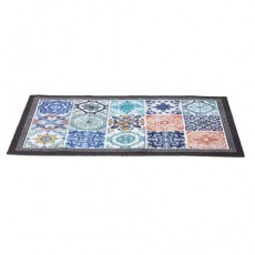 TAPIS « CARREAUX DE CIMENT » 50 x 80 CM