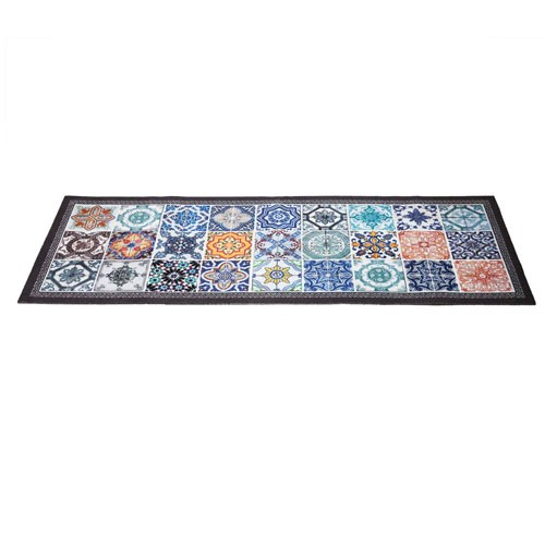 TAPIS « CARREAUX DE CIMENT » 50 x 140 CM