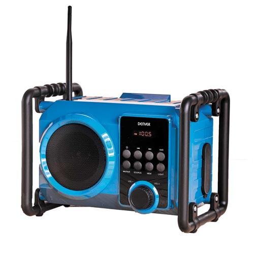 RADIO FM TOUT-TERRAIN RECHARGEABLE