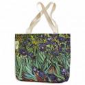 Sac shopping Van Gogh - Les Iris BlanClarence®