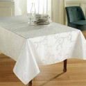 Nappe Arabesque rectangulaire BlanClarence®