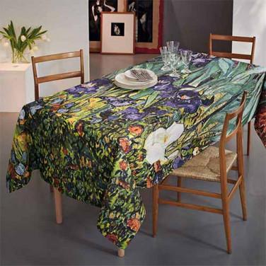 Nappe Iris carrée BlanClarence®