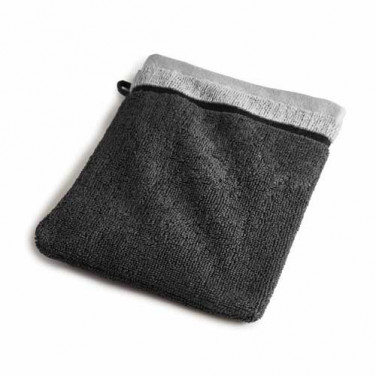 Gant de toilette gris Ako BlanClarence®