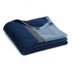 Serviette de toilette bleu Ako BlanClarence®