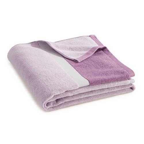 Serviette de toilette rose Ako BlanClarence®