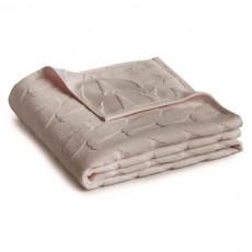 Serviette de toilette beige rose Pastel BlanClarence®
