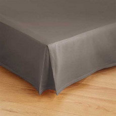 Cache-sommier taupe BlanClarence®