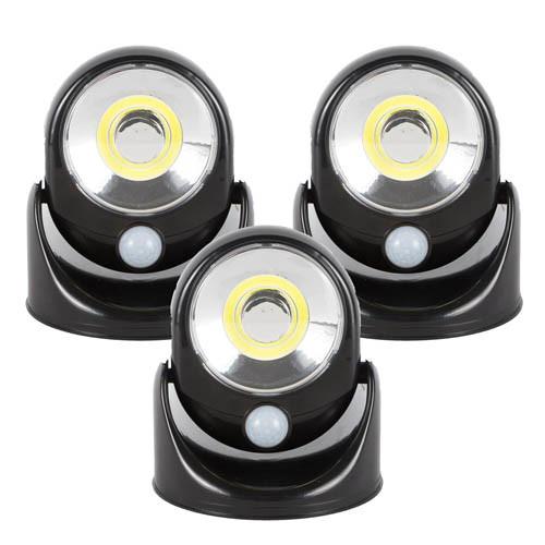 LES 3 SPOTS LED COB