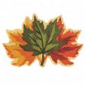 Paillasson feuilles d'automne